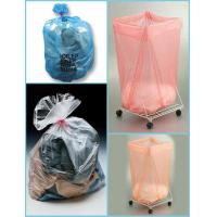Quality Customizable PVA Large Plastic Laundry Bags With Top Drawstring for Hospital for sale