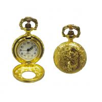 Best Gold Plating Metal Gentleman Pocket Watch With Japan PC Movt wholesale