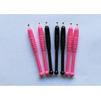 Quality Real Sterilized Semi Permanent Eyebrow Tattoo Pen With 16F / 18F Pins for sale