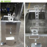 China Movable Kitchen Soak Tank With Casters And Brake Heating Optional on sale