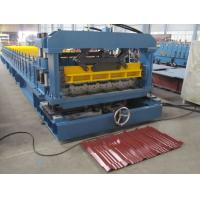 Quality Lower cost metal tile roll forming machine for sale. for sale