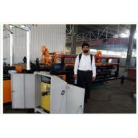 Buy cheap 2m width double wire feeding full Automatic Chain Link Fence Machine from wholesalers