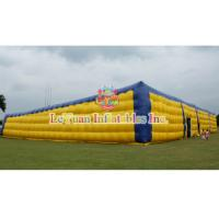 Best Building Structure Airtight Tent / Large Inflatable Air Tent 54 M Long wholesale