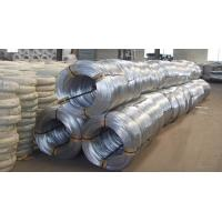 Buy Low Carbon Binding Galvanized Iron Wire For Meshes / Spring Wires at wholesale prices