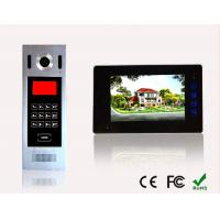 Quality High Quality Building Wires Video Door Phone Building SIP Intercom System Multi Apartment Doorbell for sale