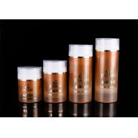30ml 50ml 100ml 120ml Cosmetic PP Airless Bottle With Transparent Cover