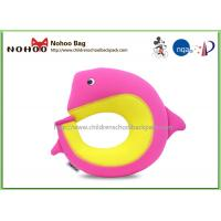 Quality Customized Dolphin Kids Neck Pillow Travel To Reduce Neck Pressure for sale