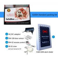 China Ultra low cost GSM home security alarm system S160A on sale