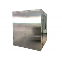 Quality H14 HEPA 25m/S Air Shower Clean Room For Biology Laboratory for sale