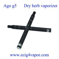 Quality Ago g5 vaporizer dry herb Dry Herb Vaporizer ago G5 LCD display wholesale ecig supplier for sale