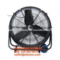 """Quality 24 inch electric high velocity floor fan drum industrial fan/24"""" electric oscillating drum head fan with 3 speeds for sale"""