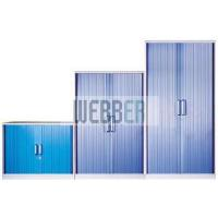 Best Metal Office Filing Cabinet with Plastic Tambour Door (Slim Design) wholesale