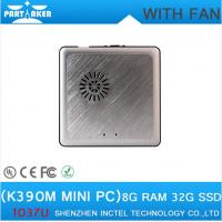 Best Factory Price mini pc windows K390M with cooling fan thin client HDMI+VGA port wholesale