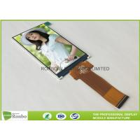 Quality Narrow IPS LCD Display 4'' Resolution 480 * 800 40 Pin RGB Interface TFT Screen for sale