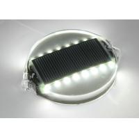 Quality Super Capacitor LED Solar Road Stud , Pavement Traffic Lane Markers 10 Years Life for sale