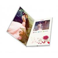 Quality 4.3inch LCD Screen Video Wedding Invitations for sale