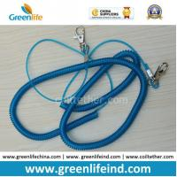 Quality 1m Elastic Spiral Plastic Coil Cord Belt for Fishing Using for sale