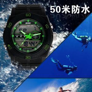 Quality Original Western Mens Analog Digital Wrist Watch With Multi Time Zone for sale
