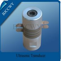 Buy 20 KHZ / 25KHZ / 40KHZ Ultrasonic Transducer For Welding Machine at wholesale prices