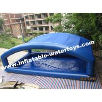 Customized 0.9mm PVC Tarpaulin Inflatable Water Pools with Movable Tent