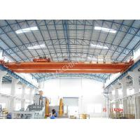 China Heavy Loads / Wide Span Double Girder Overhead Electric Cranes For Warehouse on sale