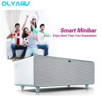 Buy cheap Multi function integrated with touch control panel and LED lighting smart table from wholesalers