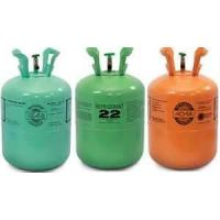 Quality r22 refrigerant for auto air conditioners high purity in 30lbs/25Lbs refillable cylinder for sale