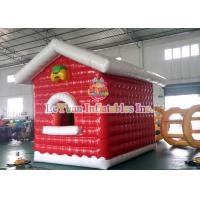 Best Air Closed Movable Inflatable Christmas Tent Colorful Inflatable House fire retardant wholesale