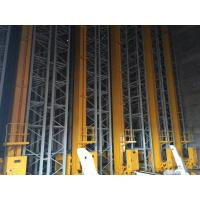 Quality Scalable Warehouse ASRS Automatic Storage Racking System With U Turn Stacker Crane for sale
