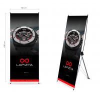 Quality Trade Show Display Customized Tripod X Stand Banners for sale
