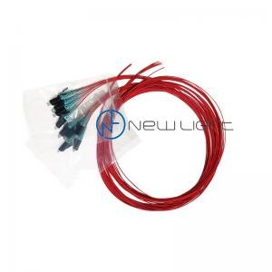 Quality Multimode Duplex OM3 10Gb Fiber Optic Patch Cable 1550nm for sale