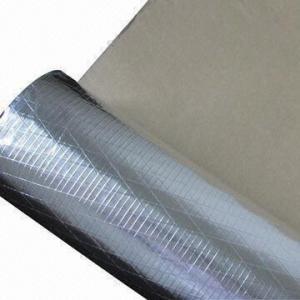Quality 3-way Aluminum Foil Scrim Kraft Facing for Building Insulation for sale