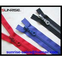 Quality High quality #3 closed end resin plastic zippers for garments pockets for wholesale for sale