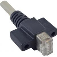Quality Cat 6 RJ45 Vertical Fastest Ethernet Cable Assemblies For Machine Vision Systems for sale