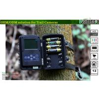Best Motion-triggered Black Flash Trail Cameras 12MP Color CMOS with 720P Video wholesale