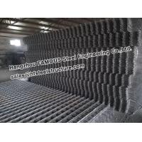 China Square Ribbed Steel Reinforcing Mesh Contruct Reinforced Concrete Slabs on sale