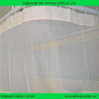 China Hospital cubicle curtain, medical curtain, disposable curtain on sale