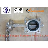 """Quality Manual Operated Industrial Stainless Steel Butterfly Valve EPDM / PTFE Seat 2"""" - 40"""" for sale"""