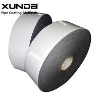 Quality PE Gas Pipe Insulation Tape , Black / White Color Wrapping Tape For Pipe for sale