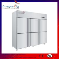 Quality Air Cooling Stainless Commercial Refrigerator Freezer With Big Volume Chest for sale