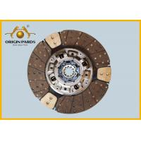 Quality ISUZU Clutch Disc 430*10 1312408651 CYH 6WF1 Metal Material High Precision for sale