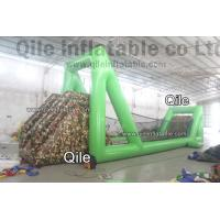 China Outdoor inflatable zip line for kids event adventure sport games on sale