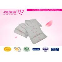 China Disposable Regular Sanitary Napkins , Butterfly Design Cotton Feminine Pads on sale