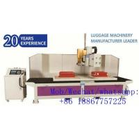 Buy cheap Fully-auto Cutting & Hole Puncher Machine for Luggage Suitcase Production from wholesalers
