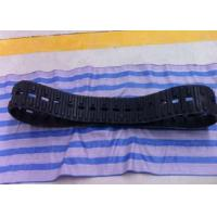 China Agricultural Snowmobile Rubber Track 140mm Width For Robot / Motorcycle Systems on sale