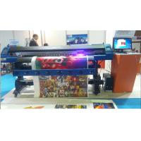 Quality LED UV Inkjet Printer DX7 head 1700mm Printing Width for For leather, PU, curtain Fabric for sale