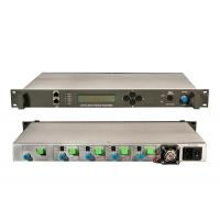 Best Satellite TV DVB-S SAT-IF Optical Transmitter And Receiver Video Audio , SC / APC wholesale