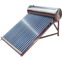 Buy cheap stainless steel low pressure solar geyser from wholesalers