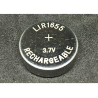 Quality High Output Power Li Ion Button Cell LIR1655  100mAh More Than 500 Cycles for sale