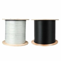 Quality Terminal System FRP G657 FTTH Outdoor Steel Messenger Wire for sale
